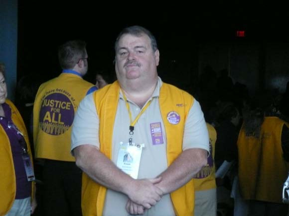 SEIU Convention - Hornick Sgt-At-Arms
