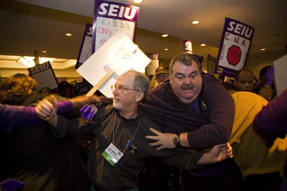 SEIU Convention - Hornick Labor Notes 1