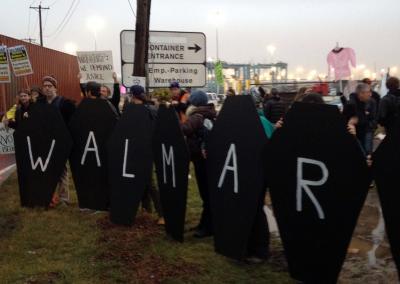 Walmart Port Protest