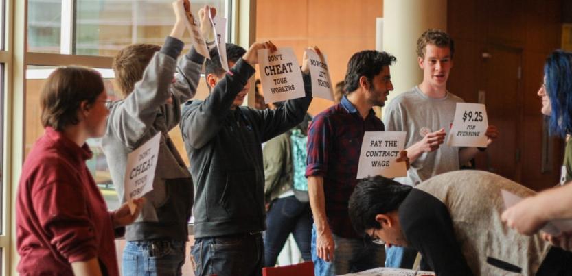 in iowa pioneering undergrad workers union keeps growing labor notes
