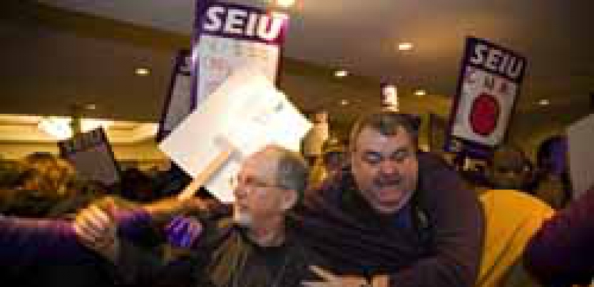 seiu protests Gallery