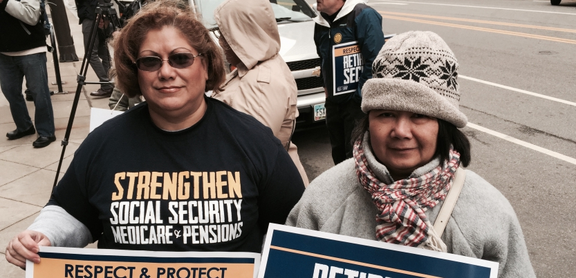 Emboldened after winning a big Congressional majority last year, Republicans are taking another swipe at Social Security. Hundreds of retirees recently rallied in Cleveland to raise the alarm.
