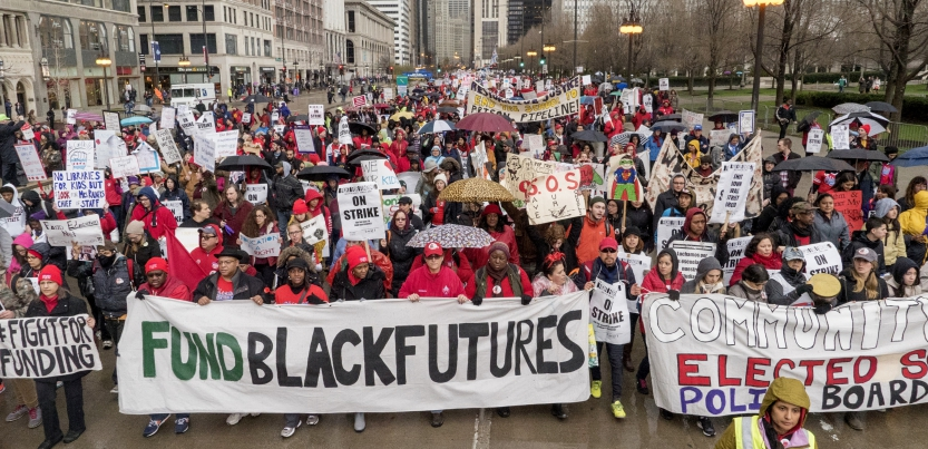 In Chicago, Teachers and Black Lives Matter Activists Partner Up to Build a Bigger Movement – Labor Notes