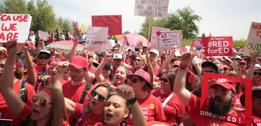 Teachers Union Leader We Wont Work With >> What S Behind The Teachers Strikes Labor Notes