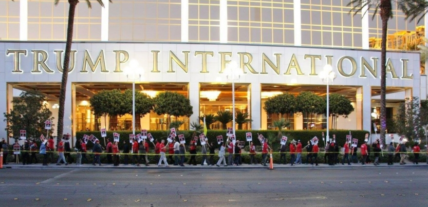 Housekeeping And Food Service Workers Won A First Contract At Trump  International Hotel In Las Vegas In December, As Well As An Agreement That  Paves The Way ...