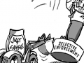 Just cause bulldozes selective enforcement