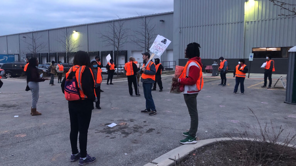 How Amazon Workers Are Organizing For The Long Haul Labor Notes